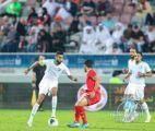 """بثلاثية """"الاخضر"""" يقصي #عمان … ويلتقي المستضيف الخميس المقبل"""