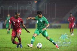 الأخضر الأولمبي يتعادل مع قطر