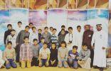 بالصور .. طلاب حنين المتوسطة في مهرجان التمور