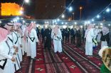 بالصور .. الضيف الرسمي لمهرجان الجنادرية 30 في جناح الجوف
