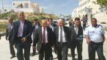 وزير الأشغال الفلسطيني يتفقد مشاريع البنية التحتية في محافظة الخليل