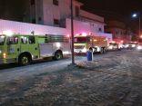 بالصور .. مدني الأحساء يسيطر على حريق منزل دون إصابات