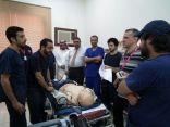 الهلال الأحمر بالمنطقة الشرقية يقيم دورات متخصصة للأطباء وأخصائيي طب الطوارئ