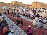 جماعة مسجد مناور هيفان بصوير الشمالي يقيمون افطار جماعي