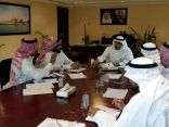 اجتماع لجنة أهالي الطرف ببلدية الجفر يثمر عن اعتماد مشاريع مشتركة