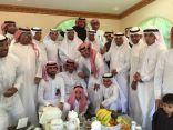 """"""" الجاسم """" عضو اﻻتحاد السعودي لكرة القدم يحتفل بعقد قران ابنه """" عبدالإله"""