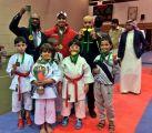 هجر للكاراتية يحصد المركز الأول في بطولة المملكة