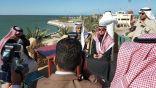 أمين الشرقية يتفقد التوسعة الجديدة والمواقع الاستثمارية بمنتزه الملك عبد الله