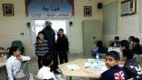 مدرسة الامام مالك بن أنس بالأحساء تشارك في مسابقة ( الطالب المدرب )