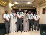 400 كشاف يساهمون في تفويج حجاج الدول العربية