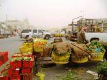 بالصور .. بسطات عشوائية تزعج المواطنين وتعيق المرور