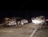 4 وفيات و 6 مصابين في حادث وجهاً لوجه على طريق حفر الباطن