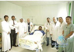 فريق طبي في مستشفى الملك عبدالعزيز بالأحساء ينجح في تخليص مريض من مرض نادر