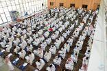 4165 طالب وطالبه مستجد ينتظمون في اختبارات تحديد المستوى بـ #جامعة_الامام_عبدالرحمن_بن_فيصل