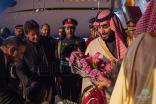 #ولي_العهد يصل باكستان في زيارة رسمية