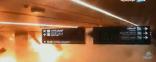 بالفيديو : لحظات وقوع العمل الإرهابي الحوثي باستهداف المدنيين بمطار أبها