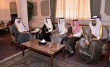 محافظ الأحساء يستقبل رئيس اللجنة العقارية بمجلس الغرف السعودية