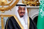 خادم الحرمين يستقبل رؤساء مجالس الشورى والنواب والوطني والأمة الخليجيين