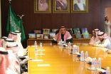 السلطان يستقبل رئيس وأعضاء المجلس البلدي بالرياض