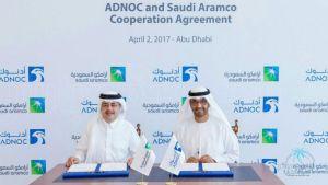 #أرامكو تبرم اتفاقا مع #أدنوك لحصة بمشروع تكرير النفط بقيمة 44 مليار دولار