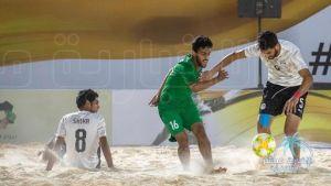 منتخبنا السعودي يخسر ثاني مبارياته في بطولة #نيوم الشاطئية