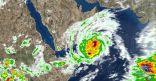 """""""الأرصاد"""" : هذه المناطق التي يؤثر عليها إعصار """"مكونو"""" .. الليلة"""