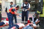 24 شخص في خطة كوارث خارجية بمستشفى الموسى التخصصي