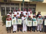 طلاب إبتدائية سلوى يزورون البريد السعودي الممتاز