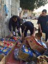 أمانة الرياض ترصد باعة جائلين وتصادر مواد غذائية غير صالحة للاستهلاك