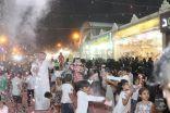 540 طفل يلون سماء #الاحساء