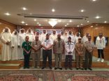 """"""" الغفيلي """" ممثلاً للكشافة السعوديه  في اجتماع مسئولي خدمة وتنمية المجتمع بمجلس التعاون"""