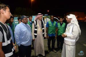 """""""الفهيد"""" يؤكد تسخير المؤسسة كافة إمكانياتها للمشاركة في خدمة الحجاج"""