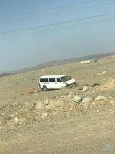 """حادث سير لباص معلمات على طريق """"عنان – الرين""""  … حالة وفاة وعدة إصابات"""