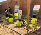 """#أمانة_الشرقية : زراعة 103 آلاف شجرة في الشهر الأول من """"شرقية خضراء"""""""