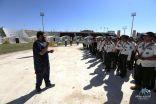 جمعية #الجوف الصحية تشارك في مهرجان التعليم للتربية الكشفية