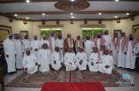 مدير جامعة الإمام محمد بن سعود الإسلامية في ضيافة