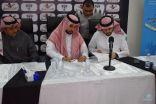 إدارة نادي هجر تبرم عقد الراعي الرسمي للفريق الأول لكرة القدم