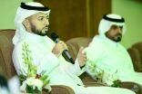 """لجنة الاستثمار الرياضي بالغرفة التجارية بالأحساء تكرم المدرب الوطني """"خالد العطوي"""""""